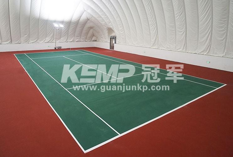 网球运动地板