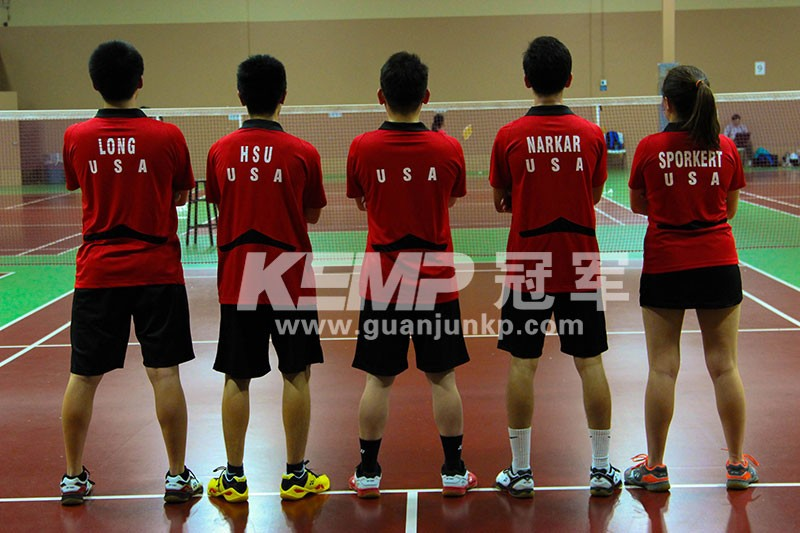 KEMP冠军羽毛球运动地板