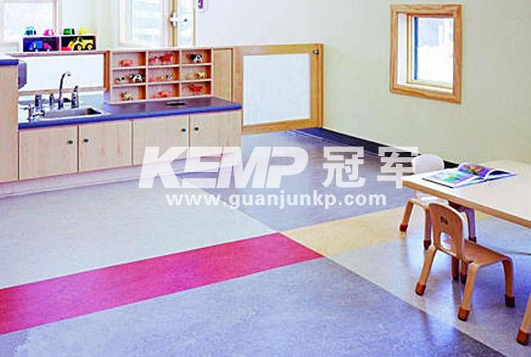 室内运动塑胶地板