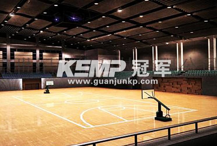 室内塑胶篮球场