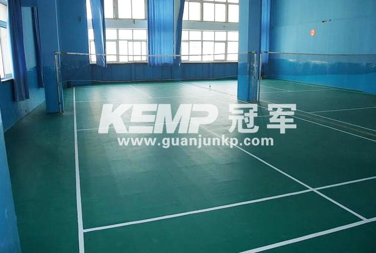 羽毛球PVC运动地板