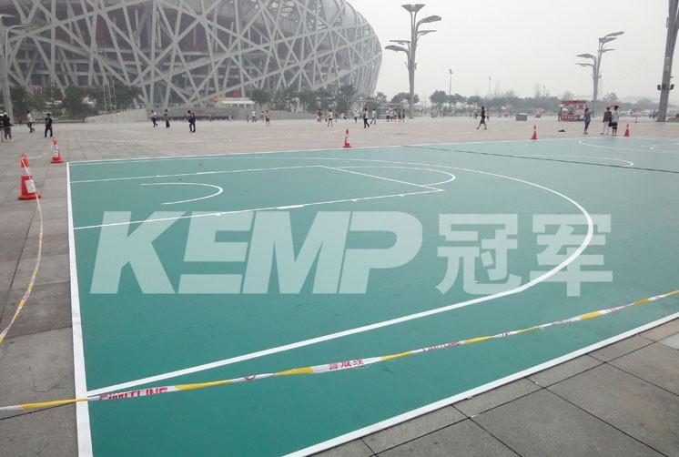PVC塑胶篮球场