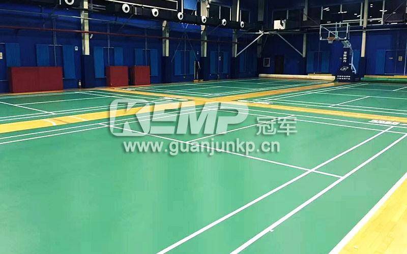 羽毛球场馆地板