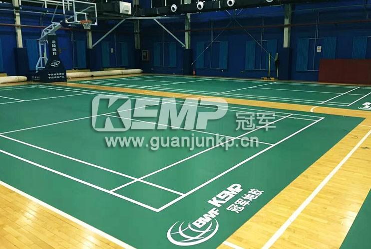 羽毛球塑胶运动地板