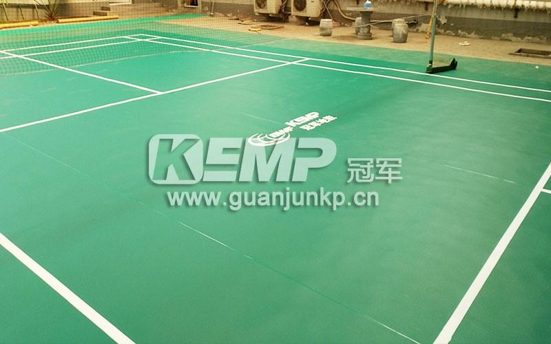 羽毛球专用地板