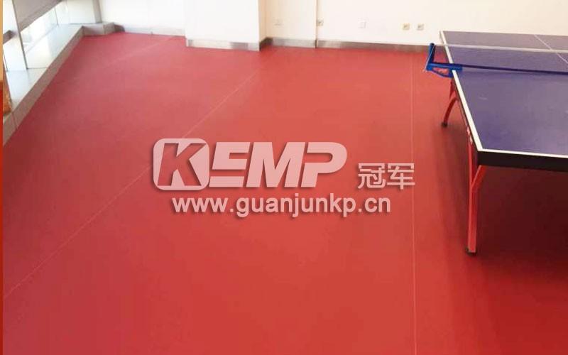 乒乓球场馆地板