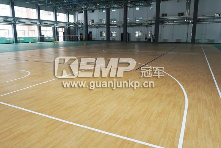 篮球运动塑胶地板