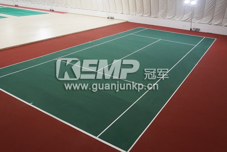 网球PVC塑胶地板