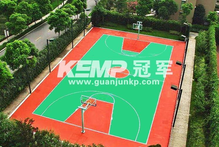 篮球塑胶地板