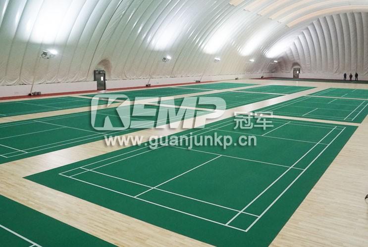 羽毛球运动地板