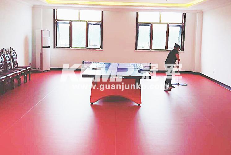 乒乓球运动地胶