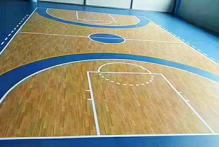 篮球场运动地胶