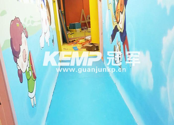 室内幼儿园塑胶地板