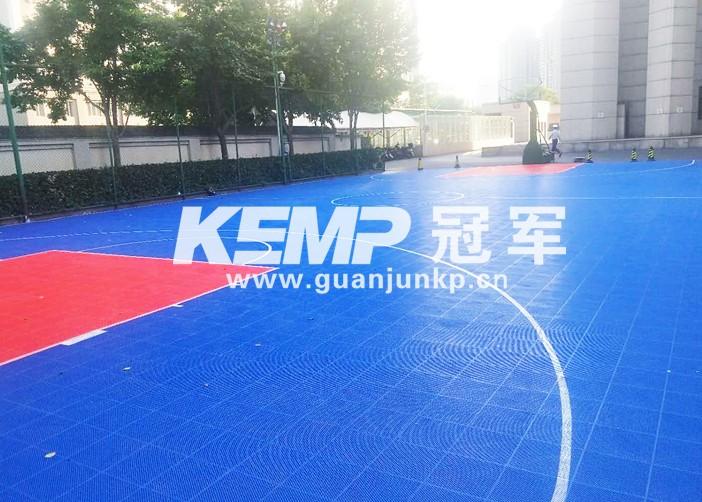 篮球悬浮地板