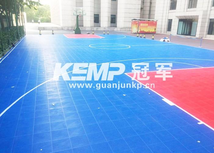 室外篮球地板