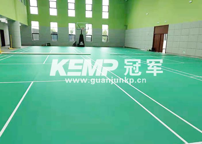 羽毛球地板