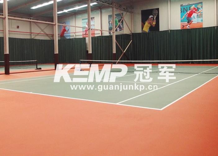 室内网球运动地板