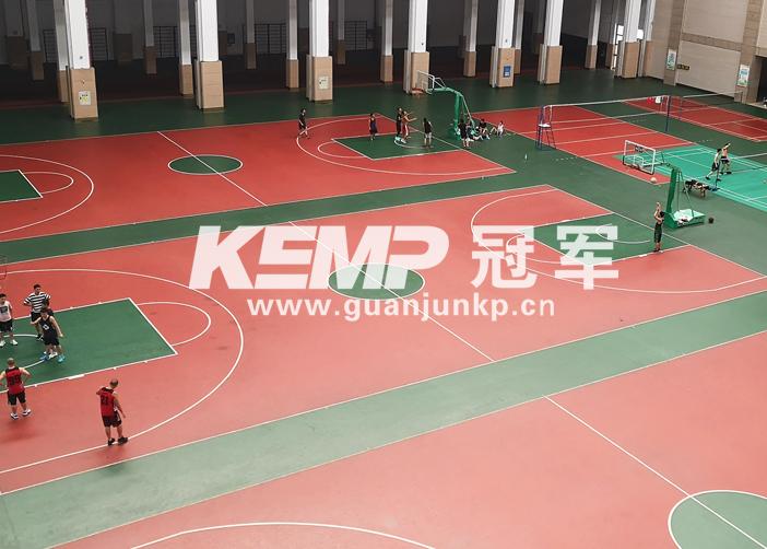 室内篮球运动地板