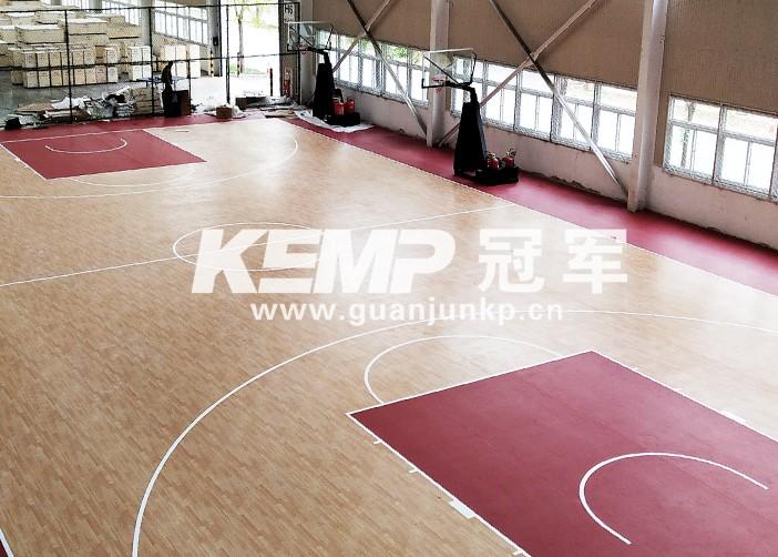 室内篮球地胶