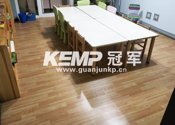 室内幼儿园地胶