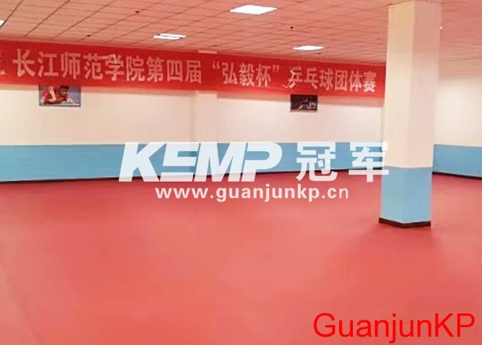 室内乒乓球运动地板