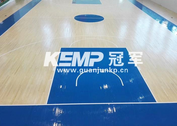 实木篮球运动地板