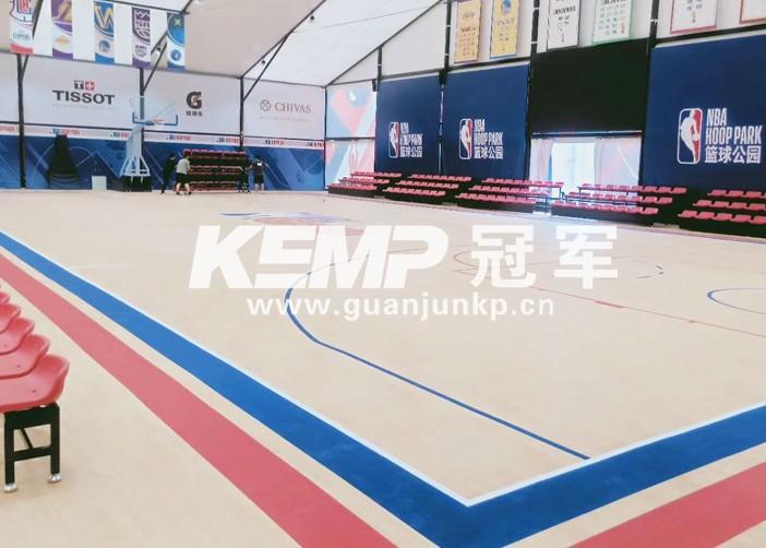 室内篮球实木地板