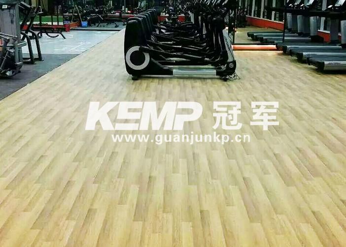健身房实木运动地板
