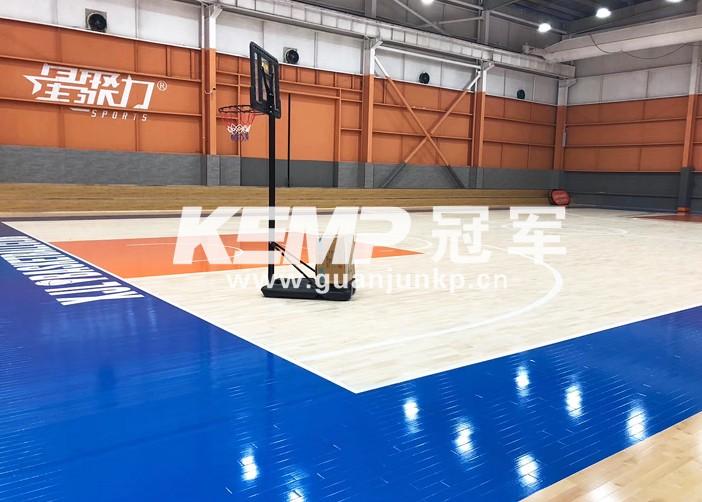篮球实木运动地板
