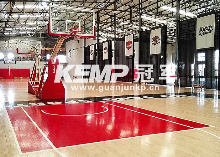 篮球实木地板