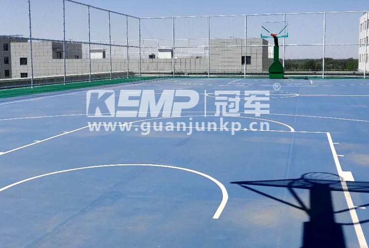 北京大兴国际机场海关室外篮球场