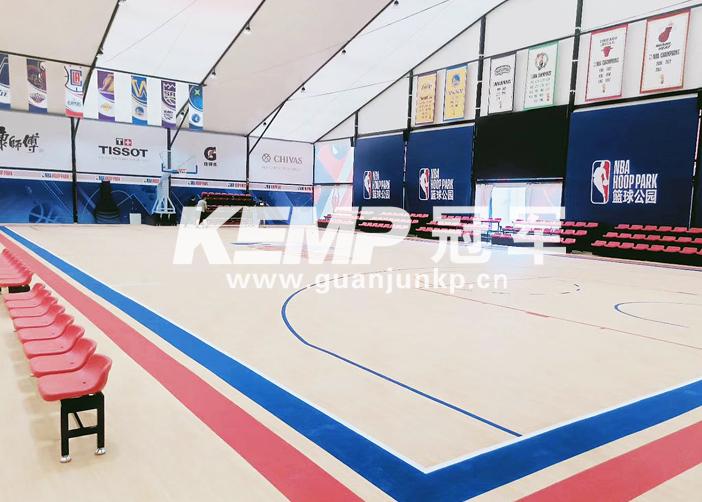 篮球专用实木地板
