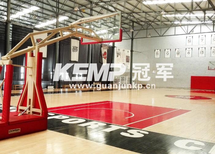 室内篮球专用木地板