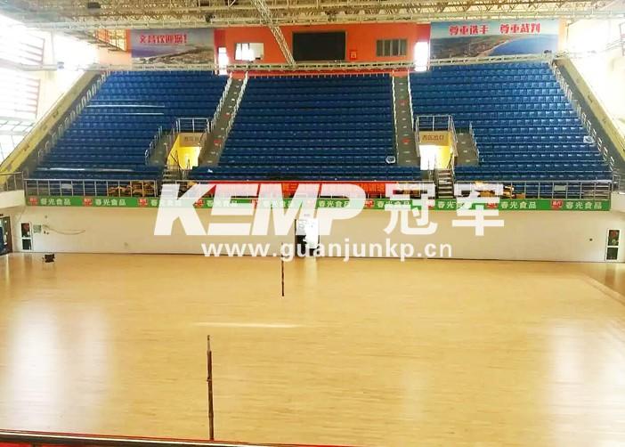 专业篮球木地板
