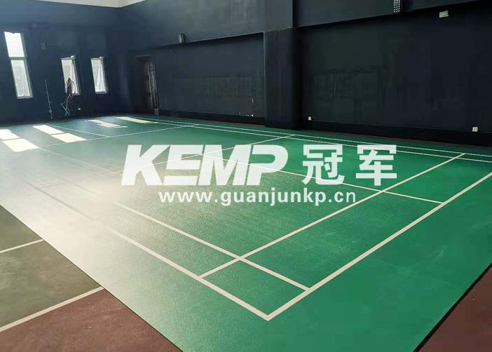 羽毛球专用运动地板